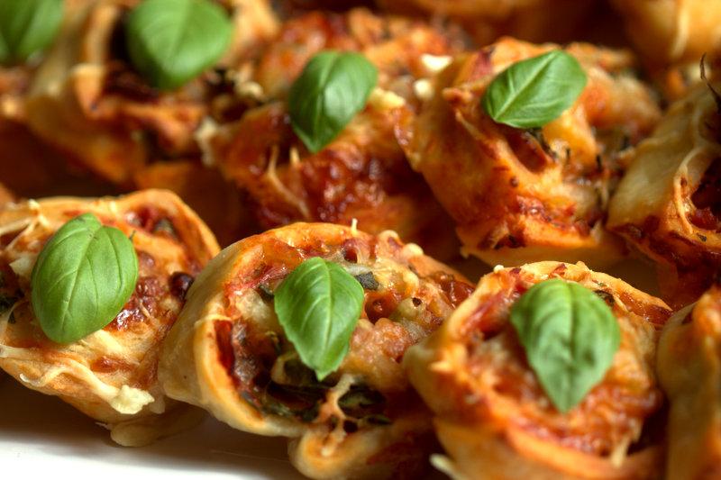 Leckere Pizzaschnecken